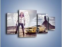 Obraz na płótnie – Chevrolet Camaro – czteroczęściowy TM079W4