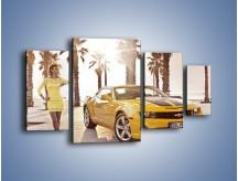 Obraz na płótnie – Chevrolet Camaro Coupe Europe – czteroczęściowy TM083W4