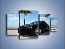 Obraz na płótnie – BMW M3 GTS – czteroczęściowy TM095W4