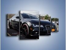 Obraz na płótnie – Audi A7 D2forged Wheels – czteroczęściowy TM099W4