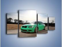 Obraz na płótnie – BMW E92 M3 Tuning – czteroczęściowy TM108W4