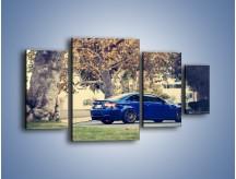 Obraz na płótnie – BMW M3 Coupe E105 – czteroczęściowy TM114W4