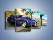 Obraz na płótnie – Bugatti Veyron – czteroczęściowy TM123W4