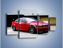 Obraz na płótnie – BMW M3 E46 Coupe – czteroczęściowy TM125W4