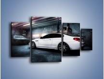Obraz na płótnie – BMW M6 F13 w garażu – czteroczęściowy TM165W4