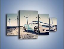 Obraz na płótnie – Chevrolet Camaro Cabrio – czteroczęściowy TM173W4