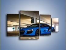 Obraz na płótnie – Audi R8 – czteroczęściowy TM180W4