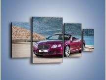 Obraz na płótnie – Bentley Continental Speed GT – czteroczęściowy TM187W4