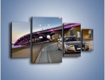 Obraz na płótnie – Audi A8 – czteroczęściowy TM188W4