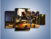 Obraz na płótnie – Bentley Continental GT V8 – czteroczęściowy TM190W4