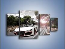 Obraz na płótnie – Audi R8 V10 Spyder – czteroczęściowy TM209W4