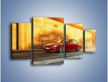 Obraz na płótnie – BMW 3 F42 – czteroczęściowy TM235W4