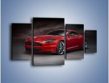 Obraz na płótnie – Aston Martin DBS Carbon Edition – czteroczęściowy TM242W4