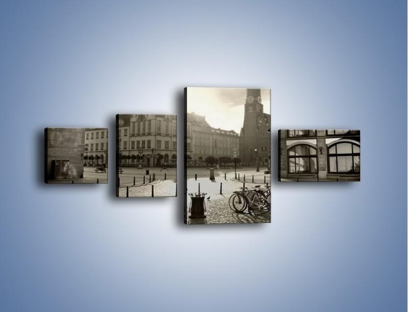 Obraz na płótnie – Rynek Starego Miasta – czteroczęściowy AM136W5