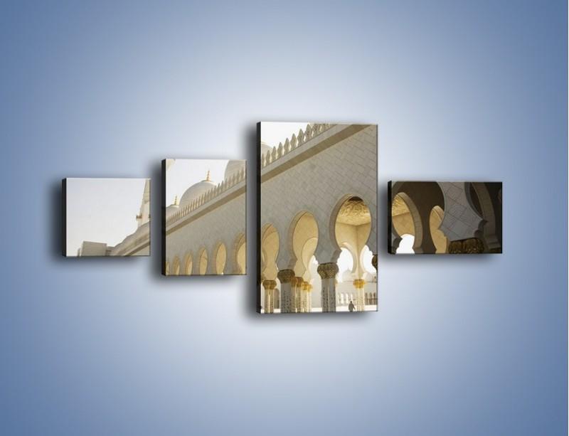 Obraz na płótnie – Bliskowschodnia architektura – czteroczęściowy AM177W5
