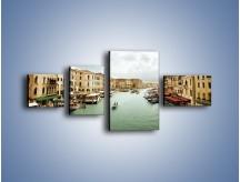Obraz na płótnie – Cieśnina Canal Grande w Wenecji – czteroczęściowy AM559W5