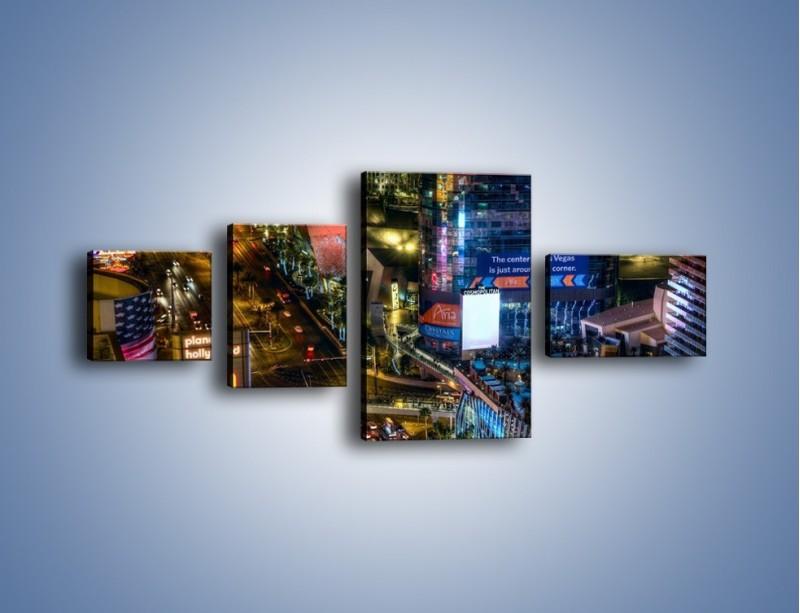 Obraz na płótnie – Cosmopolitan of Las Vegas – czteroczęściowy AM577W5