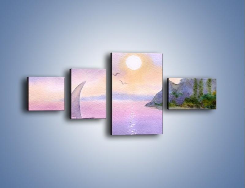 Obraz na płótnie – Uroki jesiennej pory – czteroczęściowy GR096W5