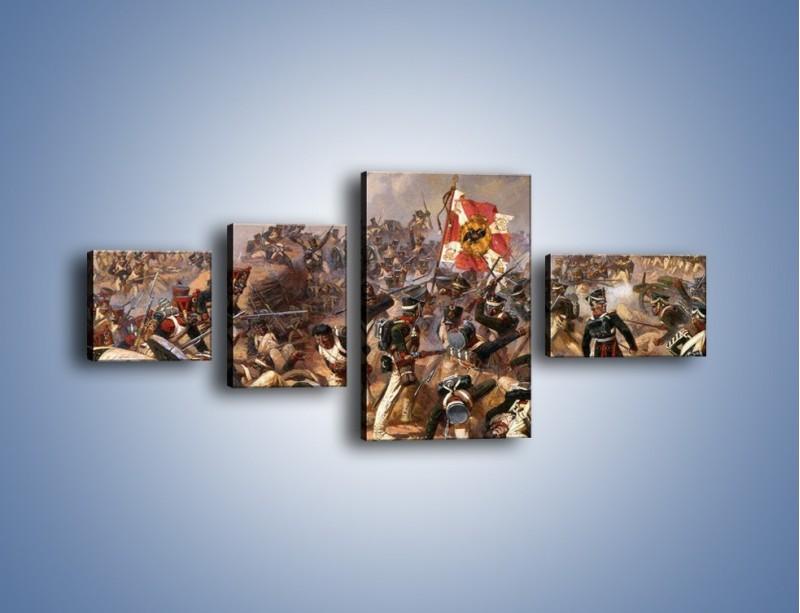Obraz na płótnie – Wojna i jej skutki – czteroczęściowy GR133W5
