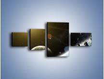 Obraz na płótnie – Dotrzeć między planety – czteroczęściowy GR534W5