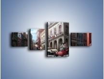 Obraz na płótnie – Codzienne życie na kubie – czteroczęściowy GR627W5