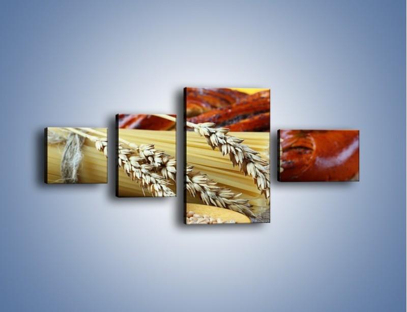 Obraz na płótnie – Chleb pszenno-kukurydziany – czteroczęściowy JN090W5