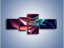 Obraz na płótnie – Ciemność różanych główek – czteroczęściowy K679W5
