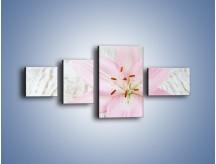 Obraz na płótnie – Cała słodycz w lilii – czteroczęściowy K727W5