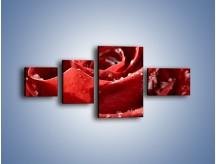 Obraz na płótnie – Chłód w różanych płatkach – czteroczęściowy K932W5