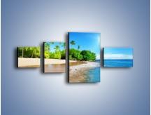 Obraz na płótnie – Bajeczne wakacyjne wspomnienia – czteroczęściowy KN1110AW5