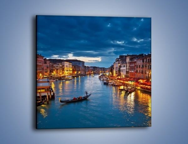 Obraz na płótnie – Wenecja romantyczną porą – jednoczęściowy kwadratowy AM163