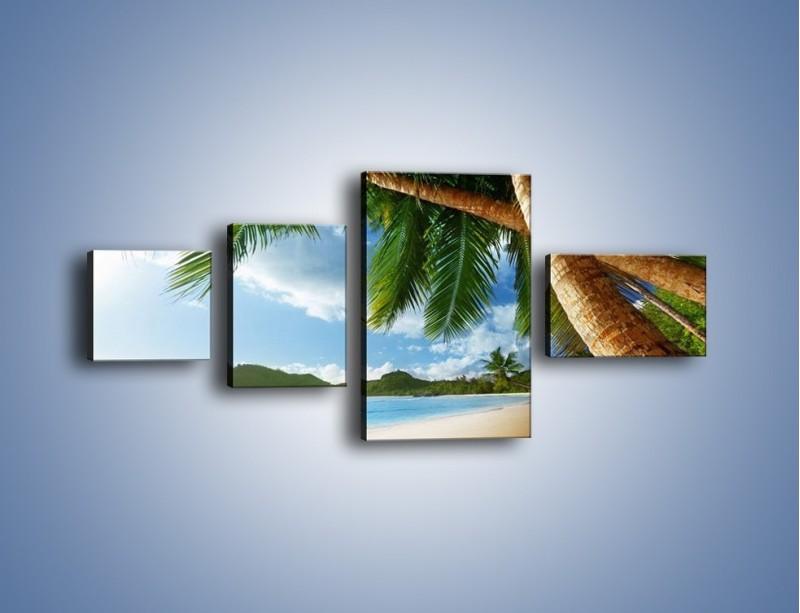 Obraz na płótnie – Idealne miejsce na ziemi – czteroczęściowy KN847W5