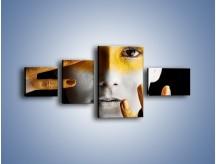 Obraz na płótnie – Farby do twarzy i ciała – czteroczęściowy L345W5