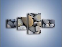 Obraz na płótnie – Kamienie duże i małe – czteroczęściowy O006W5