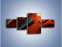 Obraz na płótnie – Instrument i muzyka poważna – czteroczęściowy O025W5