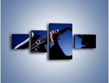 Obraz na płótnie – Koncert na saksofonie – czteroczęściowy O110W5