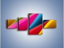 Obraz na płótnie – Idealna kolorowa kompozycja – czteroczęściowy O219W5