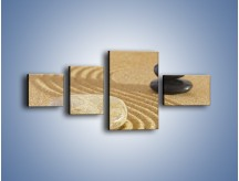 Obraz na płótnie – Harmonia podzielona na pół – czteroczęściowy O231W5
