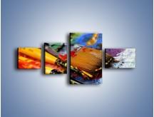 Obraz na płótnie – Kolory ze sobą zmieszane – czteroczęściowy O251W5