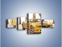 Obraz na płótnie – Chevrolet Camaro Coupe Europe – czteroczęściowy TM083W5