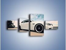 Obraz na płótnie – BMW M3 Strasse Forged Wheels – czteroczęściowy TM094W5