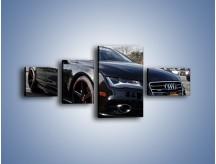 Obraz na płótnie – Audi A7 D2forged Wheels – czteroczęściowy TM099W5