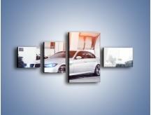 Obraz na płótnie – BMW 3 E90 – czteroczęściowy TM112W5