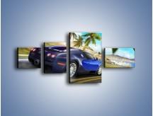 Obraz na płótnie – Bugatti Veyron – czteroczęściowy TM123W5