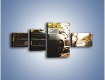 Obraz na płótnie – Chevrolet Camaro w matowym kolorze – czteroczęściowy TM132W5