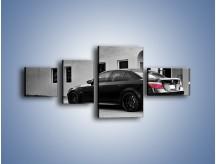 Obraz na płótnie – BMW M5 E74 – czteroczęściowy TM135W5