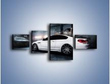 Obraz na płótnie – BMW M6 F13 w garażu – czteroczęściowy TM165W5