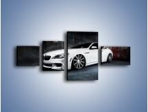 Obraz na płótnie – BMW M6 F13 Vossen Wheels – czteroczęściowy TM169W5