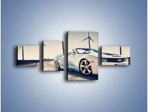Obraz na płótnie – Chevrolet Camaro Cabrio – czteroczęściowy TM173W5