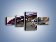 Obraz na płótnie – Audi A8 – czteroczęściowy TM188W5